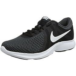 Nike Wmns Revolution 4 EU, Zapatillas de Running para Mujer, Negro, 39 EU