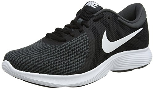 Nike Wmns Revolution 4 EU, Zapatillas de Running para Mujer, Negro (Black/White-Anthracite 001), 41