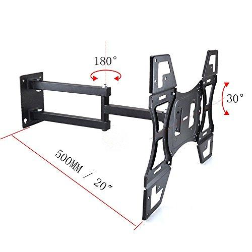Sunydeal supporto tv montaggio a parete tv staffa misura la maggior parte 22 50 pollici vesa - Montaggio tv a parete ...