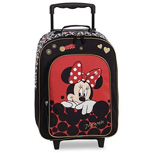 Disney , Valigia per bambini  Nero nero/rosso