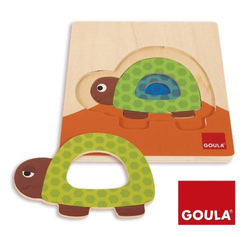 Goula - 53127 - Jouet De Premier Age - Puzzle Tortue Gigogne