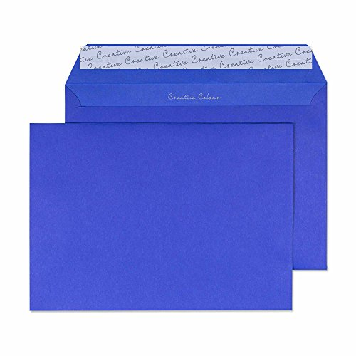 For Sale Creative Colour C5 162 x 229 mm Wallet Peel and Seal Envelope – Victory Blue (Pack of 500) Online