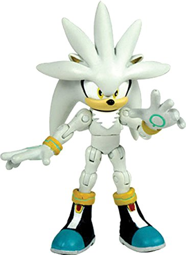 Sonic The Hedgehog Super Poser Silver Figura de Acción