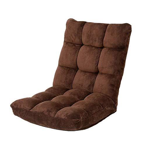 Lg-jz Silla de meditación, sofá Sentado, Respaldo de Suelo de Tatami Plegable,...