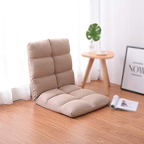 JXHD Faltbarer Einzelner Sofa-Stuhl/Faules Sofa - Computer-Stuhl FüR Boden Oder Bett, 3 Farben...