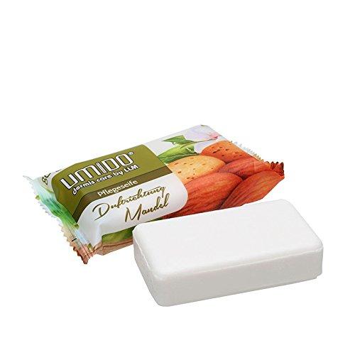 UMIDO Seife 80 g Mandel - Hand-Seife - Waschstück - Seifenstück für ihre Körperpflege - Festseife - 1 x 80 g (4.)