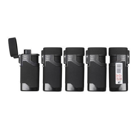 stealth-black-rubber-windproof-lighter-electronic-lighter-refillable-lighter-jet-lighter-gas-lighter