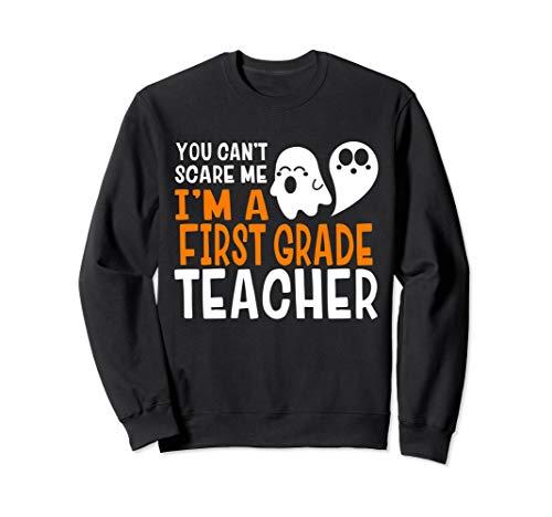 Klasse Lehrer Erste Kostüm - Erste Klasse Halloween Lehrer Lustig Sweatshirt