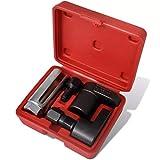 Festnight 5tlg. Sauerstoff-Sensor & Gewindestrehler Set Sauerstoffsensor Werkzeug mit Aufbewahrungsbox