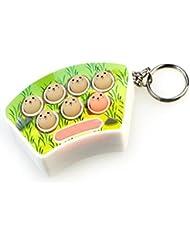 Bazaar Lumières colorées jeu de la taupe machine de jeu anneau de clé boucle clé musicale
