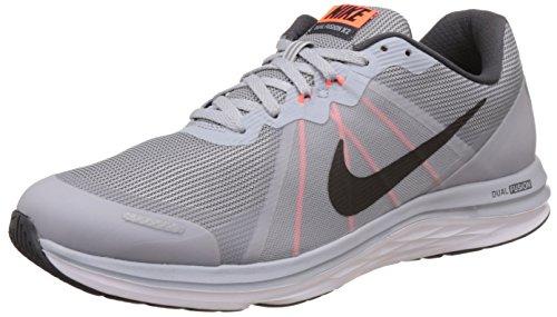 Nike Dual Fusion X, Chaussures de Trail homme Blanc (Wlf Grey/Blk Anthrct Ttl Crmsn)