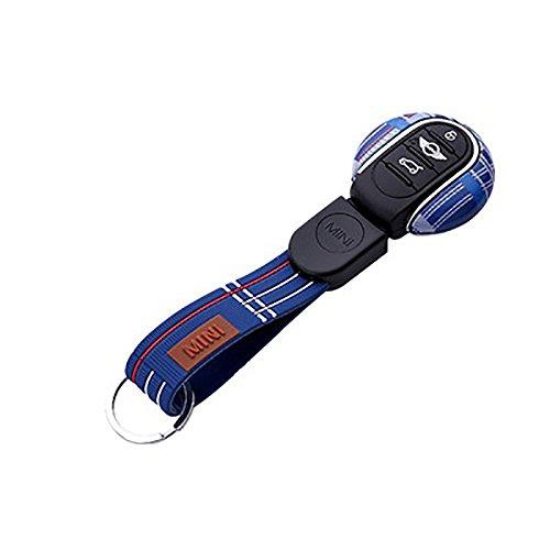 LVBAO FOB - Carcasa de repuesto para mando a distancia, llavero, llavero, llavero, de ABS, para Mini Cooper One S, JCW, F54, F55, F56, F57, F60, Clubman Countryman