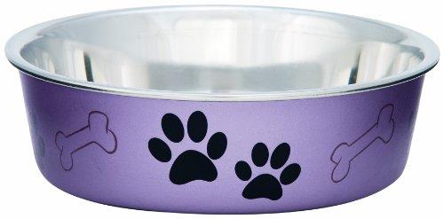 Loving-Pets-Metallic-Bella-Bowl-Dog-Bowl-Large-15-Litre-Grape