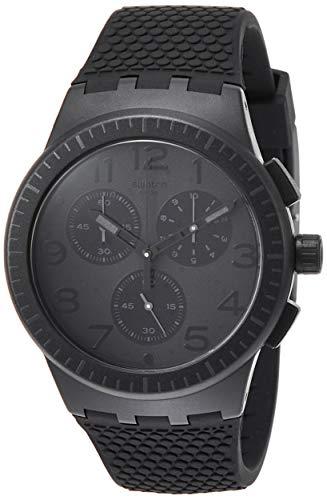 c4f18a2a39e1 Swatch Reloj Cronógrafo para Hombre de Cuarzo con Correa en Silicona SUSB104