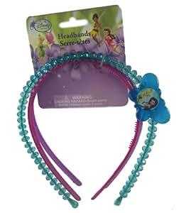 Disney Fée Clochette Serre Tête Turqoise/Perle - Assorti