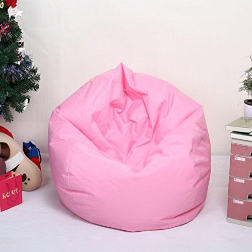 Homyl Sitzsack Bezug Bean Bag Sessel Sitzkissen Bezüge Abdeckung für Kinder - Rosa
