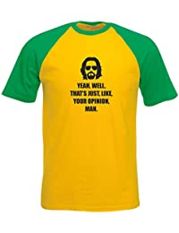Brand88 - Yeah, Well, That's Just, Like, Your Opinion, Man Camiseta De Manga Corta Para Niños Con Colores Contrastantes