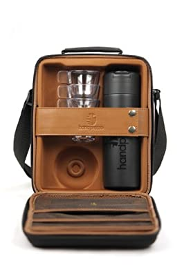 Handpresso Hybrid Outdoor Case with Flask and Cups, Black