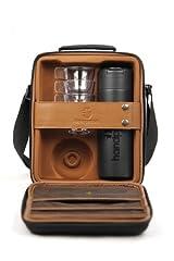 Idea Regalo - Handpresso 48242 - Cofanetto con 1 Thermos da 300 ml, 4 Tazze impilabili e 2 tovagliette