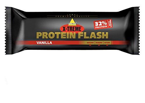 Inkospor X-Treme Protein Flash Riegel, Vanille, 30 x 65g (Protein Vanille-quest)