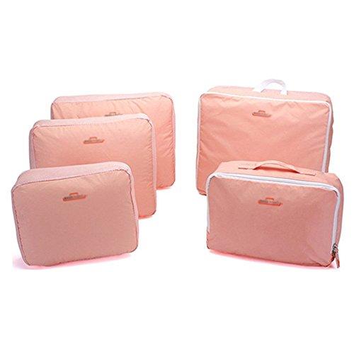Hotportgift 5 Kleidung, Taschen, Reisegepäck Verpackung Cube Organizer-Tasche