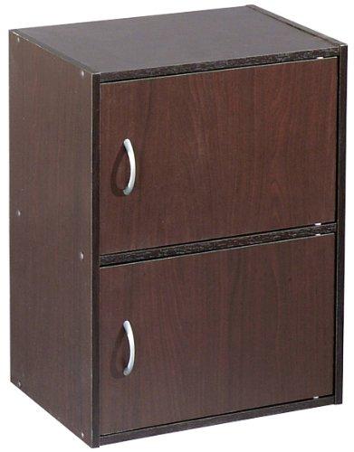 Alsapan Bücherregal Easy Life Cube mit 2 Türen Farbe: Wenge 2 Tür Bücherregal
