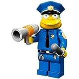 The Simpsons Lego Mini Figure Chief Wiggum