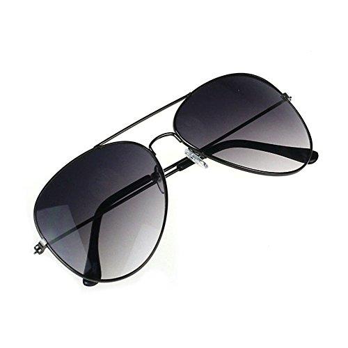 Sonnenbrille,Yumimi88 Herren Damen Kröte Aviator Sonnenbrille,Cool für den Sommer (Gray) (Aviator Sonnenbrillen, 53mm)