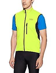 Gore Bike Wear Herren Element Windstopper Softshell Weste, Neon Gelbschwarz, Xl