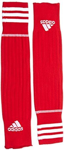 adidas Erwachsene Fußballstutzen 3 Streifen Stegstrümpfe, University Red/White, 43-45