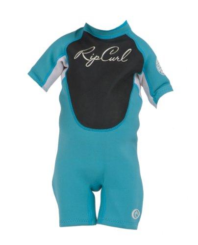 Rip Curl Kleinkind/Kleinkind Mädchen DAWN PATROL Short Sleeve Springsuit, blau (Springsuit)