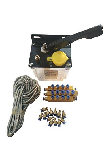 KEHUASHINA Schmierung manuelle Pumpe Handschmierung 0,5 Liter 0,5 l neu