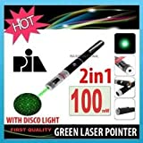 100mW GREEN LASER POINTER WITH DISCO LIG...
