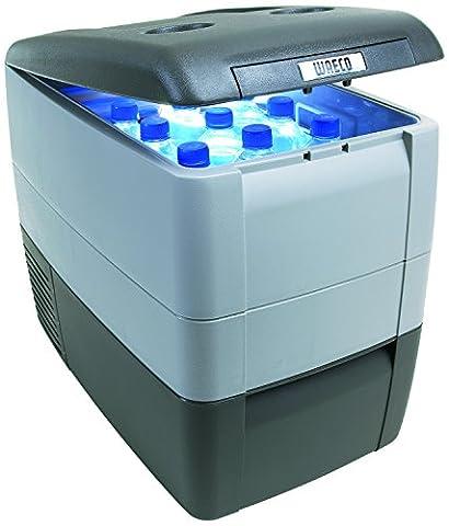 Dometic COOLFREEZE CDF 46 - Kompressor-Kühlbox, Gefrier-Box mit 12/24 Volt Anschluss für Zigarettenanzünder für PKW und LKW, tragbarer Mini-Kühlschrank, ca. 39 Liter