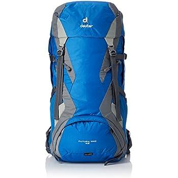 Deuter Futura Pro 42 Mochila de Montaña, Unisex Adulto, Azul, Gris, 42
