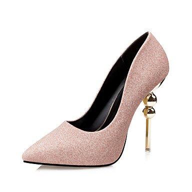 Moda Donna Sandali Sexy donna tacchi Primavera / Estate / Autunno / Inverno Comfort Casual Stiletto Heel cordone nero / rosa / rosso / grigio a piedi Black