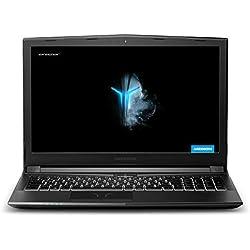 "Medion P6705 - Ordenador portátil de 15.6"" FullHD (Intel Core i7-8750H, 8GB RAM, 1TB HDD, 128G SDD, Nvidia GTX1050-4 GB, sin sistema operativo) negro - Teclado QWERTY Español"