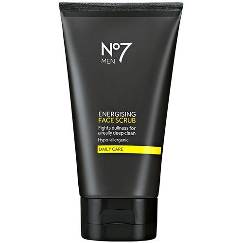 No7 Herren Energizing Face Wash 150 ml x 2 Twin Pack -