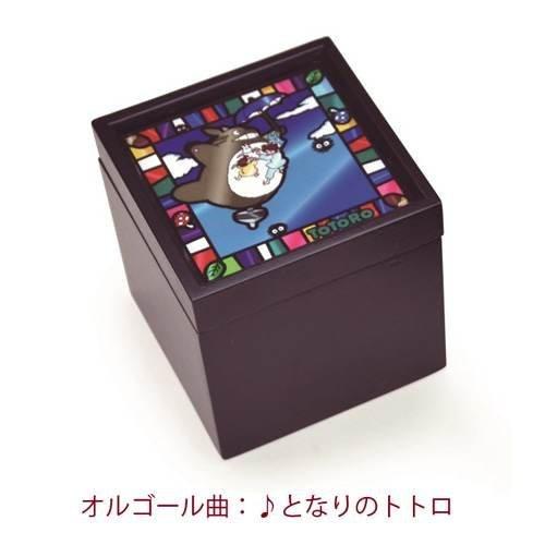 My Neighbor Totoro stained glass wind BOX Music Box