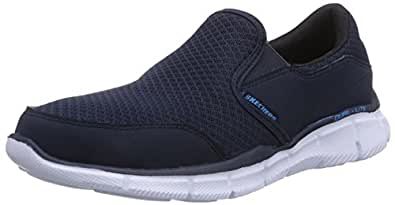 37173652b474 Skechers Men s Navy Blue Mesh Nordic Walking Shoes - 10 UK India (45 EU