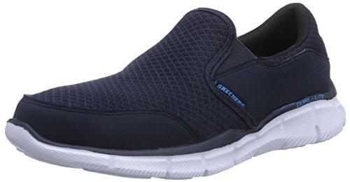 SkechersEqualizerPersistent - Zapatillas Hombre, color Azul, talla 42