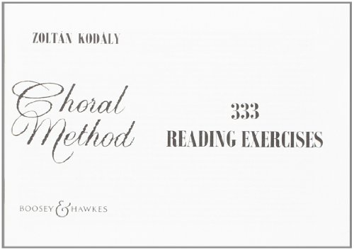 333 Reading Exercises - Choral Method