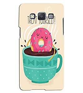 Citydreamz Treat Yourself/Quotes/Food/Coffee/Tea Hard Polycarbonate Designer Back Case Cover For Samsung Galaxy J2
