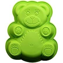 joyliveCY Diseño de oso para galletas para hacer moldes de silicona (