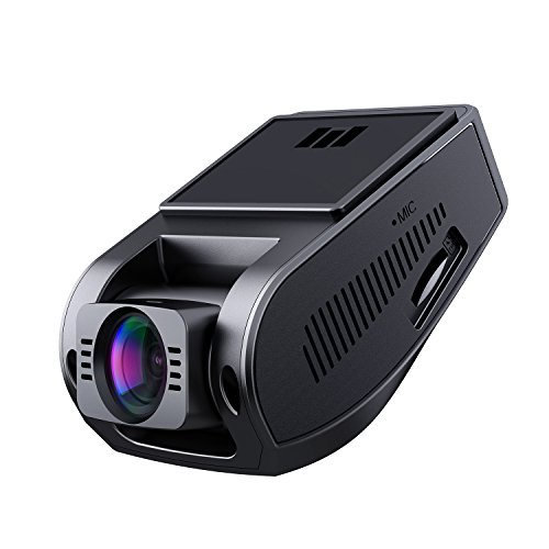 "AUKEY Dash Cam 1080P Car Camera 6-Lane 170° Wide Angle, Night Vision, Motion Detection, G-Sensor, WDR and Loop Recording, 1.5"" LCD"
