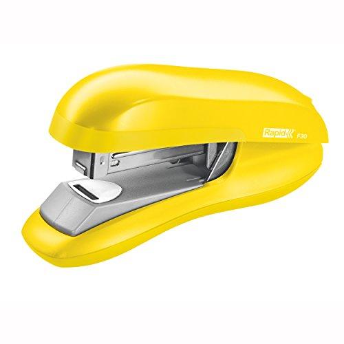 Rapid F30 Flachheftgerät (Kunststoff, 30 Blatt) gelb