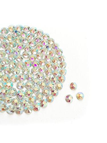 Diamante Me Cristal AB DMC Strass en verre (Hotifx/Iron on) Lot de 500, 3 mm