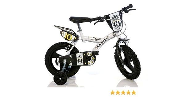 Bici Juventus 16 Rotelle Bambino 6 8 Anni Bicicletta Squadra Calcio