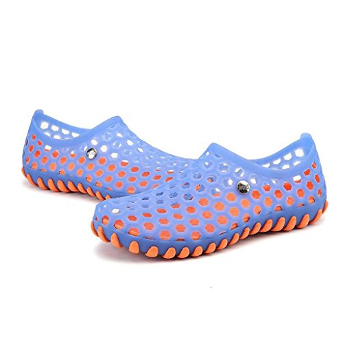 ZXCV Scarpe all'aperto Summer Hole Shoes Slippers Sandali traspiranti Sandali di grandi dimensioni Scarpe da spiaggia Scarpe da uomo Tide Blu