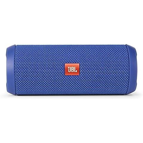 JBL Flip 3 - Altavoz portátil (Bluetooth, Micro USB, 3000 mAh) color azul